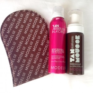 Blend Buffing Mitt RRP $11.95, Tan Airbrush in a Can 90g RRP $22, Tan Mousse 100ml RRP $22