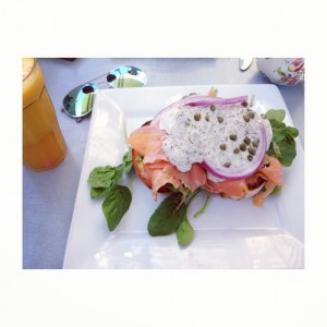 Smoked Salmon Sensation at Raw Energy